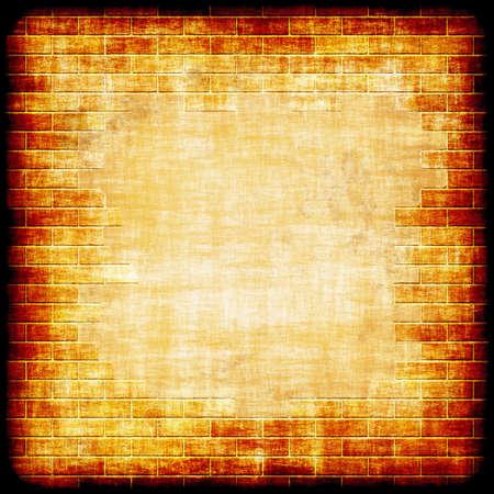 orifice: brick wall background
