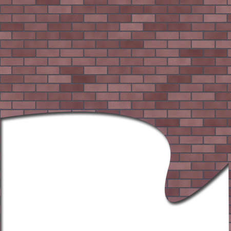 brick wall banner Stock Photo - 11116247