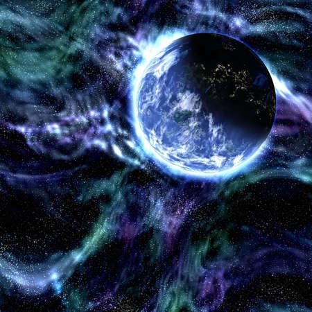 blue planet photo