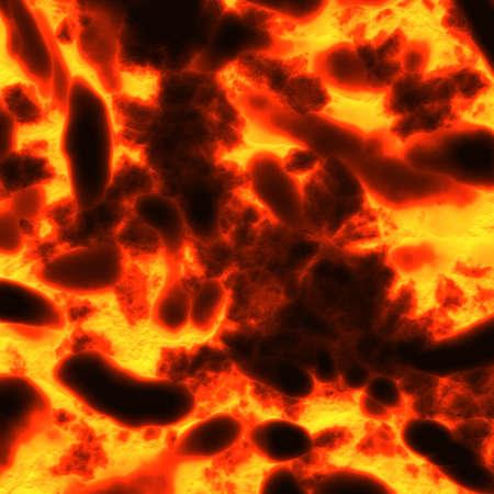 magma: lava background
