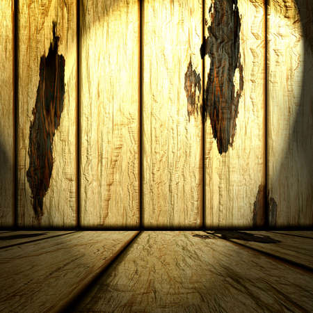 wooden room Stock Photo - 11253233