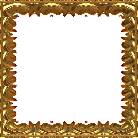 golden frame photo