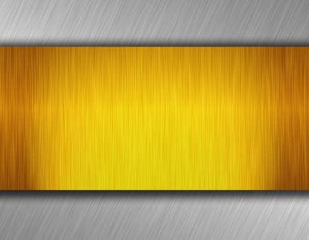 metal plate Standard-Bild