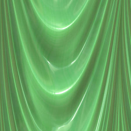 green curtain photo