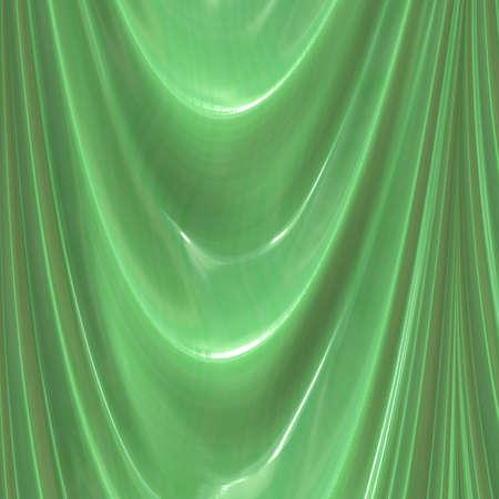 green curtain Stock Photo - 11253260