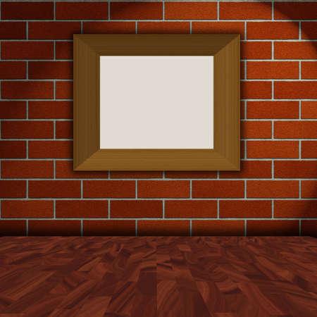 photo frame on wall Stock Photo - 11412564