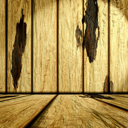 wooden room photo