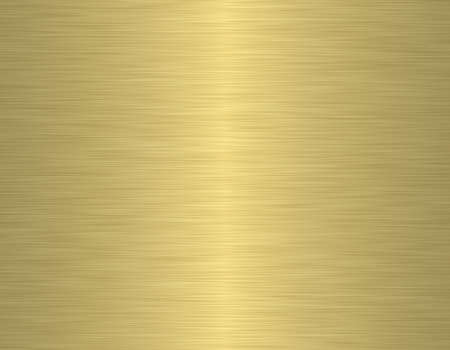 brushed aluminium: gold metal