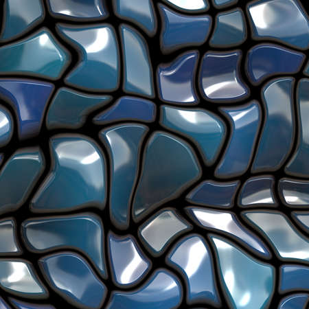 blue ceramic photo