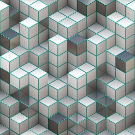 3d cubes Stock Photo - 11678634