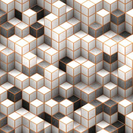 cubes background Stock Photo - 11678639