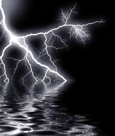 rainstorm: white thunder
