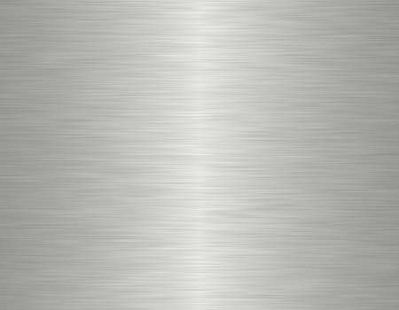 hard alloy: brushed metal