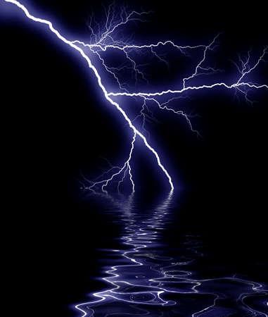 rainstorm: blue thunder