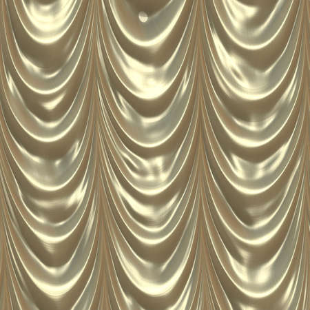 gold curtain Stock Photo - 11747821