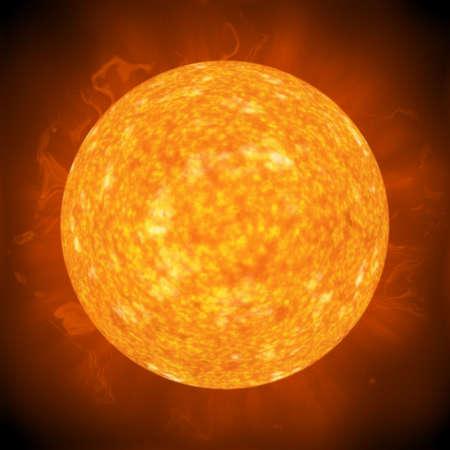 contrastive: hot sun