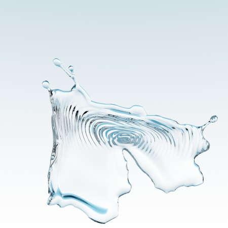 spews: water splash Stock Photo