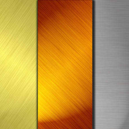 silver and gold metal Stock Photo - 11834125