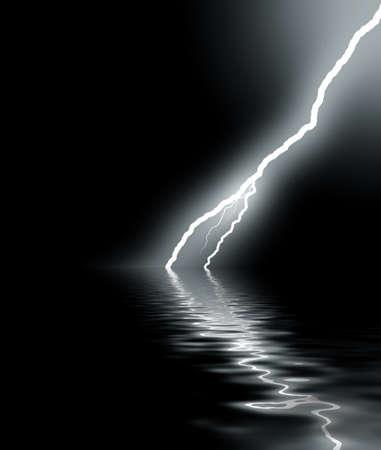 thunder on sea