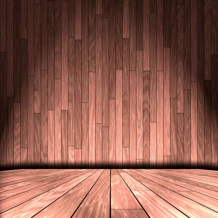 wooden room photo