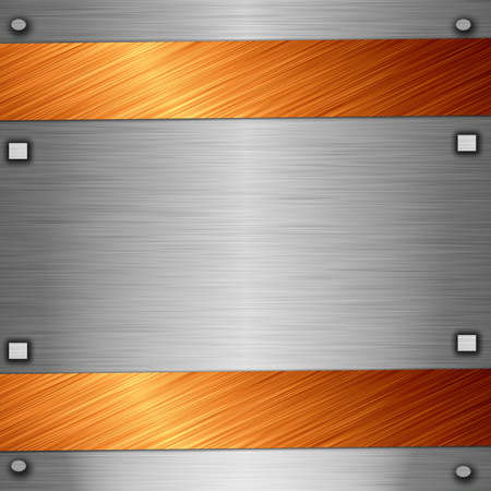 metal plate Stock Photo - 11834135