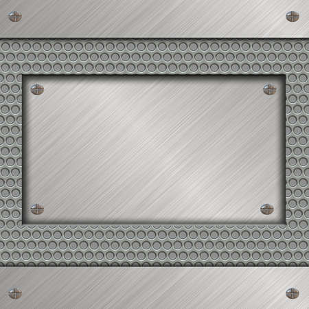 metal plate Stock Photo - 11901120