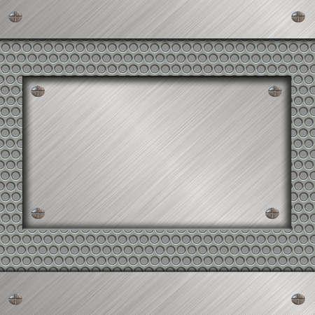 metal plate Stock Photo - 11901120