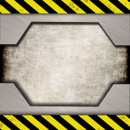 ironworks: danger sign Stock Photo
