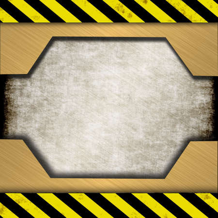 ironworks: metal sign