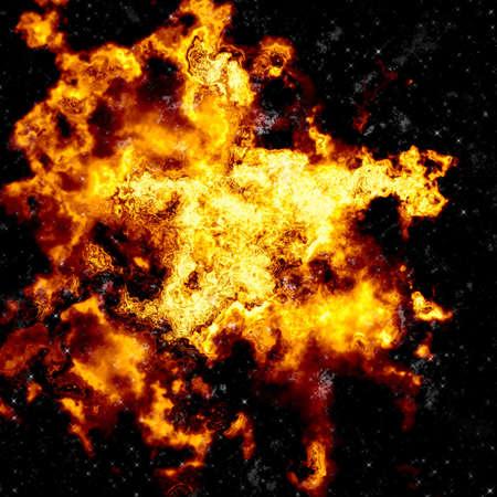 nebula explosion Stock Photo - 12183073