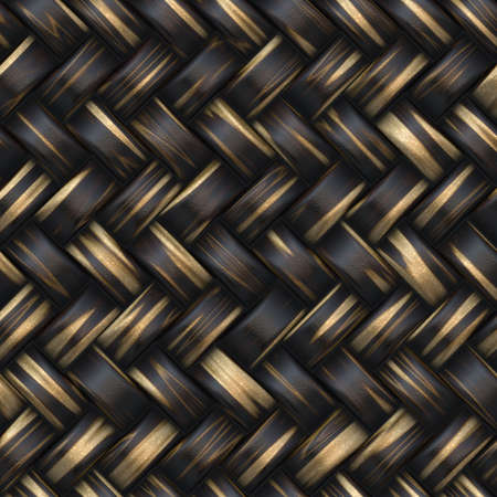 straw mat: basket texture