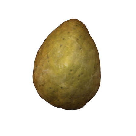 isolated potato Stock Photo - 12183151