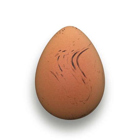 isolated egg Stock Photo - 12183154