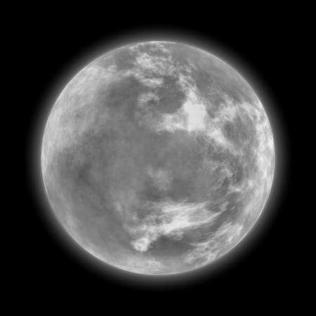 insanity: luna llena Foto de archivo