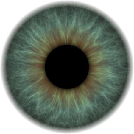 green eyes: green eye