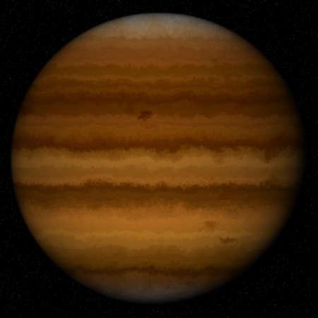 neptuno: planeta amarillo Foto de archivo