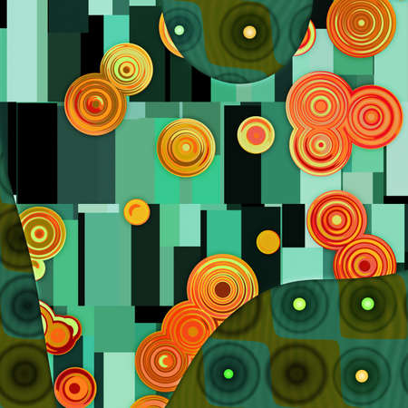 green background Stock Photo - 12795909