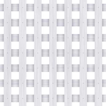 white fence Stock Photo - 12953117