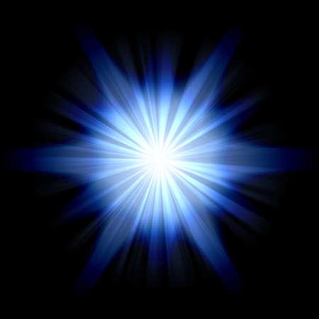 blue star Stock Photo - 13014232