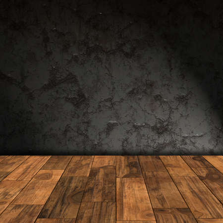 wood flooring: empty room