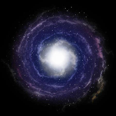 black hole: nebula sky