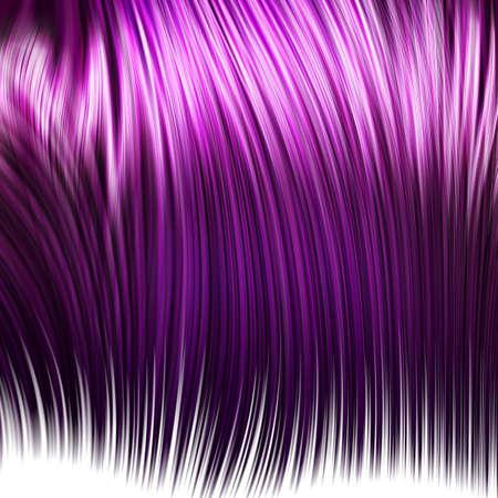cheveux roses Banque d'images