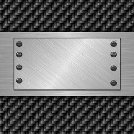 metal banner Stock Photo - 13613430