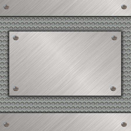 bandera de metal Foto de archivo - 13613427