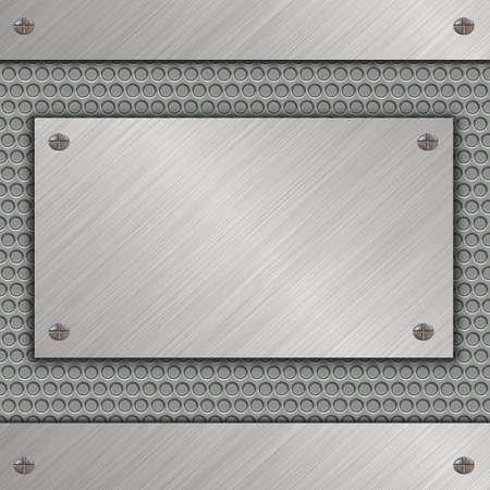 metal banner Stock Photo - 13613427