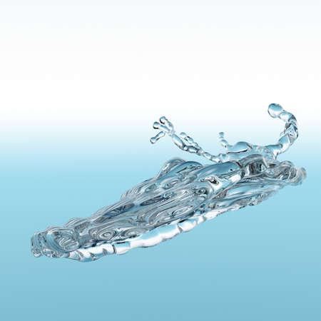 water splash Stock Photo - 13663834