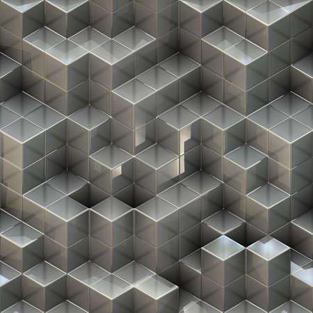 cubes background Stock Photo - 13713871