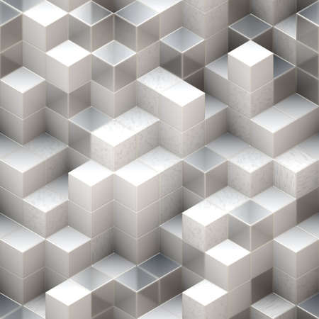 white cubes Stock Photo - 13957565