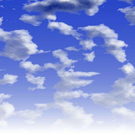 blue sky Stock Photo - 14217179