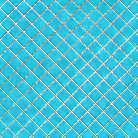 piastrelle bagno: ceramica blu Archivio Fotografico